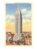 Empire State Building, New York City Print