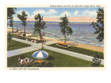 Beach, Lake Erie, Perry, Ohio Posters