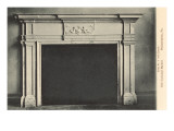 Colonial Mantel, Philadelphia, Pennsylvania Prints