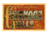Greetings from Cuyahoga Falls, Ohio Art