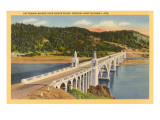 Patterson Bridge over Rogue River, Oregon Art