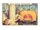 Man Made Wonders, Rockefeller Center, New York City Posters