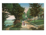 North Avenue, Chautauqua, New York Print