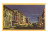 Center Street, Reno, Nevada Prints