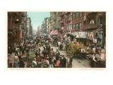 Peddlers in Old New York Street Prints