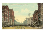 Court Street, Binghamton, New York Posters