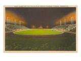 Night Game, Hershey Stadium, Hershey, Pennsylvania Posters