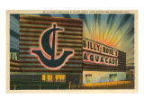 Billy Rose Aquacade, Cleveland World's Fair Poster