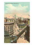 Broadway and Sixth Avenue, New York City Prints