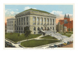 Courthouse, Akron, Ohio Poster