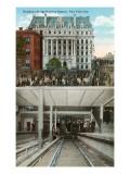 Brooklyn Bridge Subway Station, New York City Posters