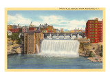 Upper Falls, Genesee River, Rochester, New York Art