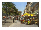 Sidewalk Cafes, Paris Posters
