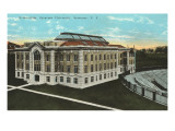 Gymnasium, Syracuse University, New York Poster