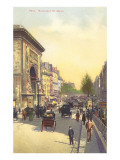 Boulevard St. Denis, Paris Posters