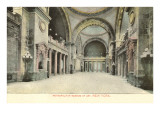 Interior, Metropolitan Museum, New York City Print