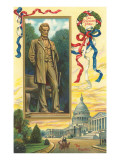 Abraham Lincoln, Statue and Capitol Posters