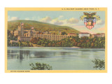 West Point from Hudson River, New York Art