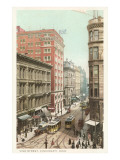 Vine Street, Cincinnati, Ohio Poster
