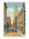 Robinson Street, Oklahoma City, Oklahoma Kunstdrucke