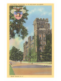 Academic Building, West Point, New York Posters