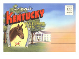 Postcard Folder, Scenic Kentucky Posters