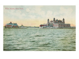 Ellis Island, New York Harbor Poster