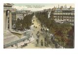 Boulevards of Paris Print