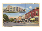 View of Huron, Ohio Prints