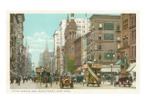 Fifth Avenue and 42nd Street, New York City Prints