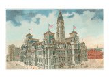 City Hall, Philadelphia, Pennsylvania Poster