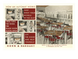 Explanation of an Automat, Horn and Hardart, New York City Posters