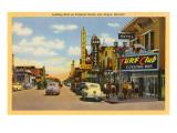 Fremont Street, Las Vegas, Nevada Posters