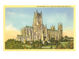Cathedral of St. John the Divine, New York City Prints