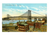 Williamsburg Bridge, New York City Art