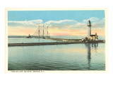 Lake Ontario, Oswego, New York Prints