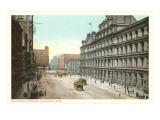 Government Square, Cincinnati, Ohio Prints