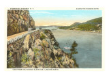 Storm King Highway, Hudson River, New York Prints