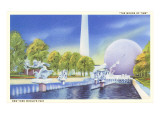 The Moods of Time, New York World's Fair Pool Prints