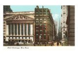 New York Stock Exchange, New York City Poster