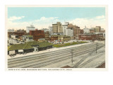 Business District, Oklahoma City, Oklahoma Prints
