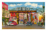 Virginia Street, Reno, Nevada Prints