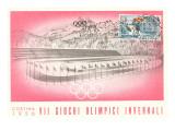 Winterspiele von Cortina 1956 Poster