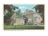 Washington&#39;s Headquarters, Valley Forge, Pennsylvania Prints