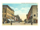 Main Street, Fostoria, Ohio Prints