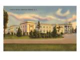 Lincoln Baths, Saratoga Springs, New York Print
