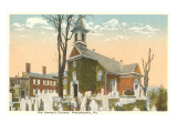 Old Swede's Church, Philadelphia, Pennsylvania Prints