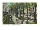 Broadway, Saratoga Springs, New York Prints