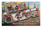 Greetings from Las Vegas, Nevada Posters