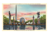 Statuary, New York World's Fair, 1939 Print